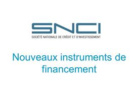 Introduction de nouveaux instruments de la SNCI