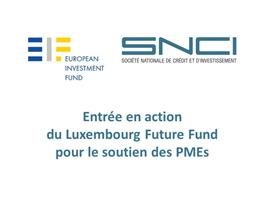 Start of the Luxembourg Future Fund aiming support of SMEs