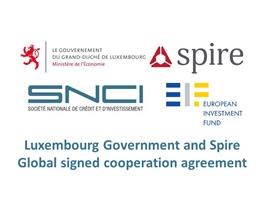 Luxembourg Government and Spire Global signed cooperation agreement to open a European HQ in the Grand Duchy